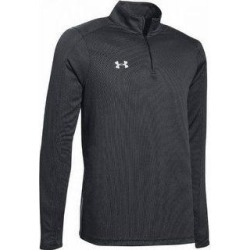 Under Armour Men's Team Novelty Locker 1/4 Zip (Black / Metallic Silver - Small), Silver / Grey Silver(polyester) found on Bargain Bro Philippines from Overstock for $34.97