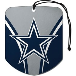 Dallas Cowboys Air Freshener Shield Design 2 Pack - 2.75x3.5 inches (Blue) found on Bargain Bro Philippines from Overstock for $18.41