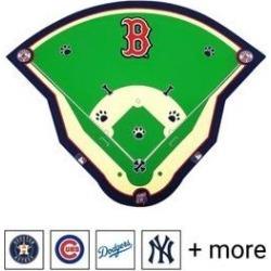 Nap Cap MLB Field Dog & Cat Feeding Mat, Boston Red Sox