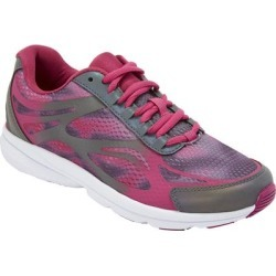 Extra Wide Width Women's The Julie Sneaker by Comfortview in Pink (Size 11 WW) found on Bargain Bro Philippines from Ellos for $42.99
