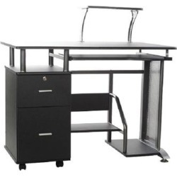 OneSpace Rothmin Computer Desk (Rothmin Desk), Black found on Bargain Bro Philippines from Overstock for $164.99