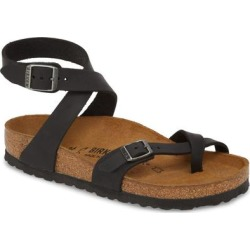 Yara Sandal - Brown - Birkenstock Flats found on MODAPINS from lyst.com for USD $125.00