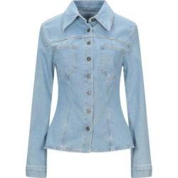 Denim Shirt - Blue - Nanushka Tops found on MODAPINS from lyst.com for USD $194.00