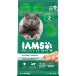 Iams ProActive Health Healthy Senior Dry Cat Food, 7-lb bag