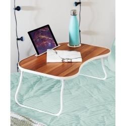 Honey-Can-Do Lap Desk Wood, - White & Brown Folding Lap Desk found on Bargain Bro Philippines from zulily.com for $23.99