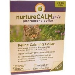 NurtureCALM 24/7 Calming Collar for Cats, up to 15-in neck, 2 count found on Bargain Bro from Chewy.com for USD $15.94