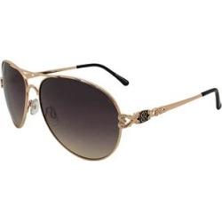 Bandolino Women's Sunglasses BK - Tan Ombre Arezzo Aviator Sunglasses found on Bargain Bro from zulily.com for USD $7.59