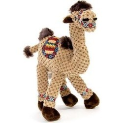 Fab Dog Floppy Camel Squeaky Plush Dog Toy, Small