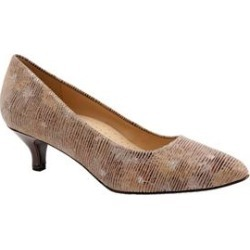 Women's Kiera Pumps by Trotters in Tan Multi (Size 9 1/2 M) found on Bargain Bro India from Woman Within for $99.99