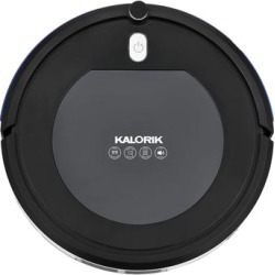 Kalorik Home Ionic Pure Air Robot Vacuum, Black and Gray by Kalorik in Stainless Steel found on Bargain Bro Philippines from Brylane Home for $119.99