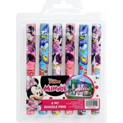 UPD Writing Utensils - Minnie Mouse Six-Piece Doodle Pen Set found on Bargain Bro Philippines from zulily.com for $5.99