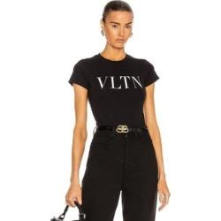 Logo T Shirt Bodysuit - Black - Valentino Lingerie found on Bargain Bro from lyst.com for USD $524.40