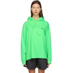Green Logo Hoodie - Green - we11done Sweats