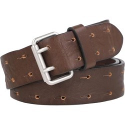 Leather Belt - Brown - AllSaints Belts found on Bargain Bro from lyst.com for USD $60.04