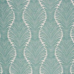 RM Coco Suite Fern Grotto Fabric in Blue, Size 54.0 H x 36.0 W in | Wayfair 12672-48 found on Bargain Bro Philippines from Wayfair for $63.75