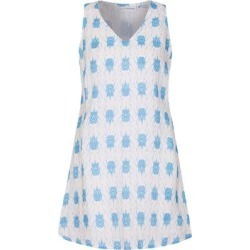 Linen Henny Dress - Blue - Pink House Mustique Dresses found on Bargain Bro from lyst.com for USD $180.12