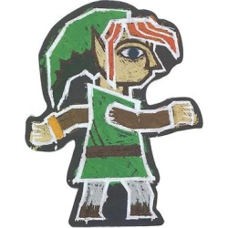 Toynk Toys Refrigerator Magnets - The Legend of Zelda Link Painting Magnet found on Bargain Bro from zulily.com for USD $4.17