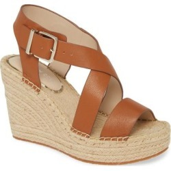 Olivia Espadrille Wedge Platform Sandal - Brown - Kenneth Cole Heels found on MODAPINS from lyst.com for USD $81.00