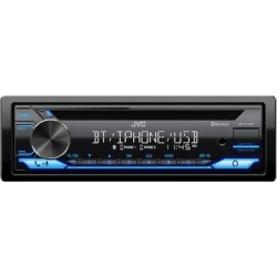 JVC KD-T710BT CD Receiver found on Bargain Bro from Crutchfield for USD $68.36