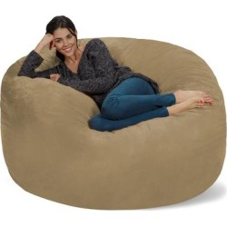 Bean Bag Chair 5-foot Memory Foam Removable Cover Bean Bags found on Bargain Bro from Overstock for USD $165.18