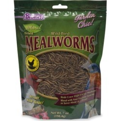 Browns Natrual Dried Mealworms for Birds, 7 oz found on Bargain Bro Philippines from petco.com for $10.39