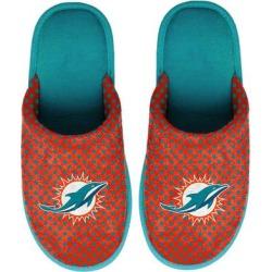 Women's Miami Dolphins FOCO Big Logo Scuff Slippers