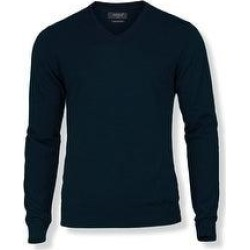 Nimbus Mens Ashbury Knitted V Neck Sweater (Navy - S), Men's, Blue(acrylic) found on Bargain Bro Philippines from Overstock for $81.10