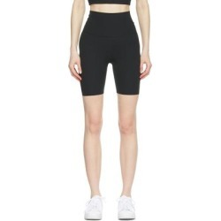 Black Infinalon Yoga Luxe Shorts - Black - Nike Shorts found on Bargain Bro from lyst.com for USD $38.00