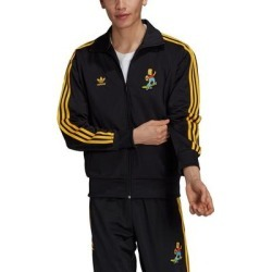 X The Simpsons Firebird Track Jacket - Black - Adidas Jackets found on Bargain Bro India from lyst.com for $85.00