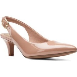 Clarks Women's Sandals Praline - Praline Linvale Sondra Patent Leather Pump - Women found on Bargain Bro from zulily.com for USD $17.42