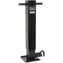 Buyers Products 12Inch Heavy-Duty Side Pin 4Inch Square Jack-No Handle, Product Type Hitch Accessories, Material Carbon Steel, Model 0091410 found on Bargain Bro from northerntool.com for USD $184.42