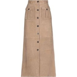 Long Skirt - Natural - Belstaff Skirts found on MODAPINS from lyst.com for USD $518.00