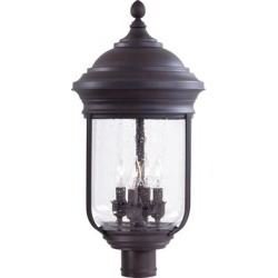 Minka Lavery Amherst 24 Inch Tall 4 Light Outdoor Post Lamp - 8816-57 found on Bargain Bro from Capitol Lighting for USD $436.96