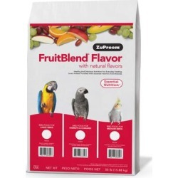 ZuPreem FruitBlend Flavors Bird Food For Medium Birds, 35 LBS found on Bargain Bro from petco.com for USD $77.57