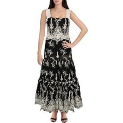 Alexis Womens Karolina Maxi Dress Embroidered Lace - Black (Black - S), Women's found on MODAPINS from Overstock for USD $248.04