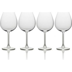 Mikasa Julie 4-pc. Bordeaux Wine Glass Set, Multicolor found on Bargain Bro Philippines from Kohl's for $29.99