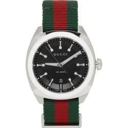 Silver GG2570 Watch - Metallic - Gucci Watches found on Bargain Bro India from lyst.com for $920.00