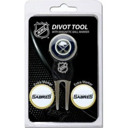 Team Golf Buffalo Sabres 4-pc. Divot Tool & Ball Marker Set, Multicolor found on Bargain Bro Philippines from Kohl's for $20.00