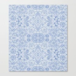 Canvas Print   Indira Periwinkle by Sierra Neale - LARGE - Society6 found on Bargain Bro from Society6 for USD $101.53