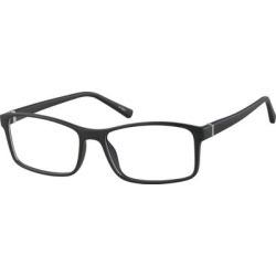 Zenni Men's Classic Rectangle Prescription Glasses Black Bendable TR Frame found on Bargain Bro India from Zenni Optical for $15.95