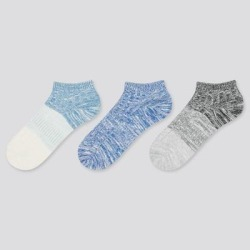 UNIQLO Kid's Short Socks (3 Pairs), Blue, 20-24cm found on Bargain Bro Philippines from Uniqlo for $7.90