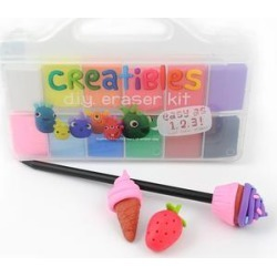 ooly Erasers - Creatibles DIY Eraser Set found on Bargain Bro Philippines from zulily.com for $10.49