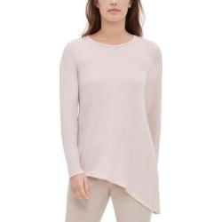 Calvin Klein Womens Blouse Metallic Asymmetric - Blush (XL), Women's(polyester) found on Bargain Bro Philippines from Overstock for $16.59