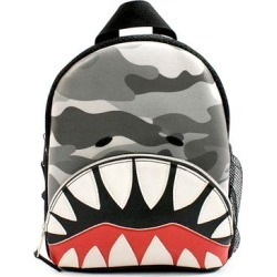 OMG Accessories Boys' Backpacks GREY - Gray Camo Shark Mini Backpack found on Bargain Bro India from zulily.com for $14.99