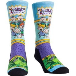Rock Em Apparel Socks - Rugrats Light Blue & Purple Showtime Socks - Kids & Adult found on Bargain Bro Philippines from zulily.com for $11.99