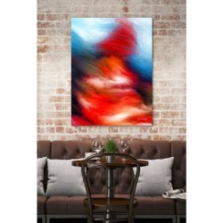 Mark Lawrence 'I Will Walk Through The Valley If You Want Me To. Psalms 23:4' Giclee Stretched Canvas Wall Art found on Bargain Bro Philippines from Overstock for $115.49