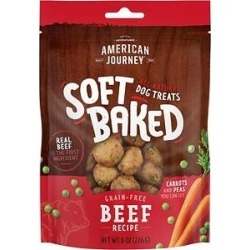American Journey Beef Recipe Grain-Free Soft-Baked Dog Treats, 8-oz bag found on Bargain Bro from Chewy.com for USD $2.97