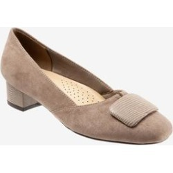 Women's Delse Pump by Trotters in Dark Nude (Size 11 M) found on Bargain Bro Philippines from Woman Within for $99.99