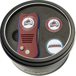 Team Golf Colorado Avalanche Switchfix Divot Tool & Two Ball Markers, Multicolor found on Bargain Bro from Kohl's for USD $18.24