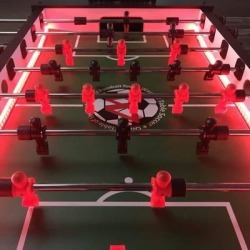Warrior Professional LED Foosball Table (Black), Warrior Table Soccer found on Bargain Bro Philippines from Overstock for $892.04